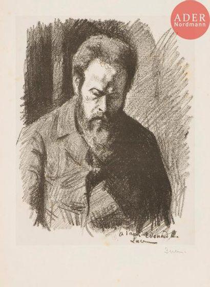 Maximilien Luce (1858-1941) Portrait d'Édouard...