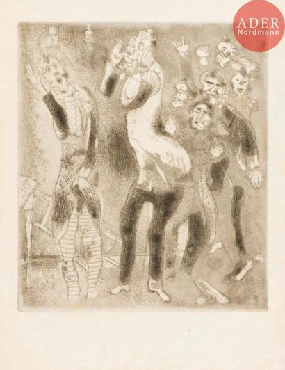 Marc Chagall (1887-1985) Illustration pour...