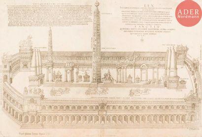 Nicolas Béatrizet (1515-après 1565) Vue du...