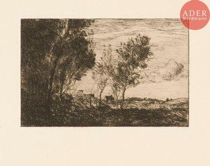 Jean-Baptiste Camille Corot (1796-1875) Dans...