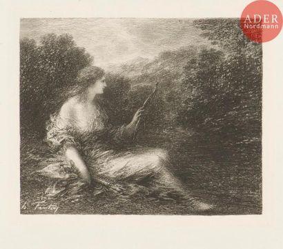 Henri Fantin-Latour (1836-1904) Chasseresse....