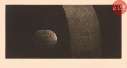 Yozo Hamaguchi (1909-2000) Pelote de laine....