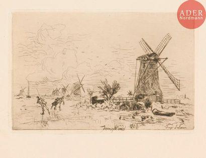 Johan Barthold Jongkind (1819-1891) Batavia....