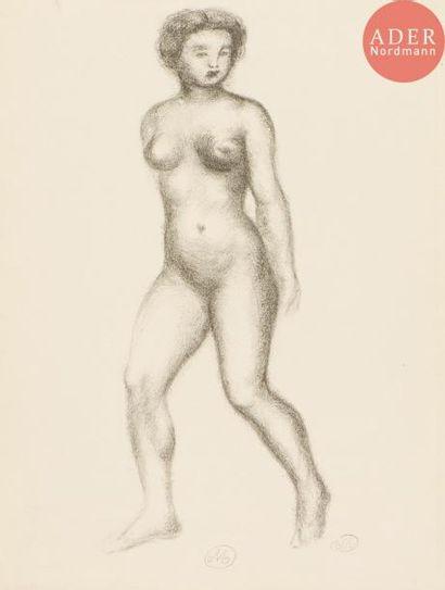 Aristide Maillol (1861-1944) Femme nue en...
