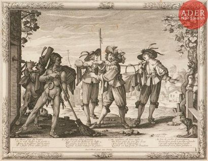Abraham Bosse (c. 1602-1676) Le Mariage à...