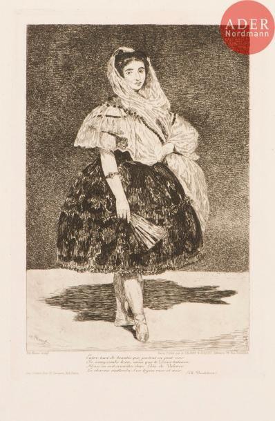 Édouard Manet (1832-1883) Lola de Valence....