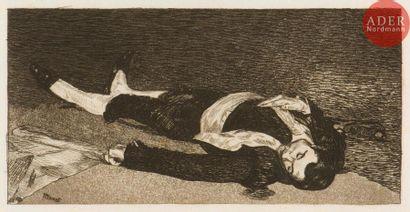 Édouard Manet (1832-1883) Le Torero mort....