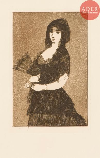 Édouard Manet (1832-1883) Fleur exotique,...