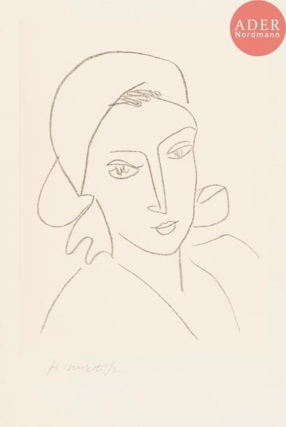 Henri Matisse (1869-1954) Catherinette. 1946....