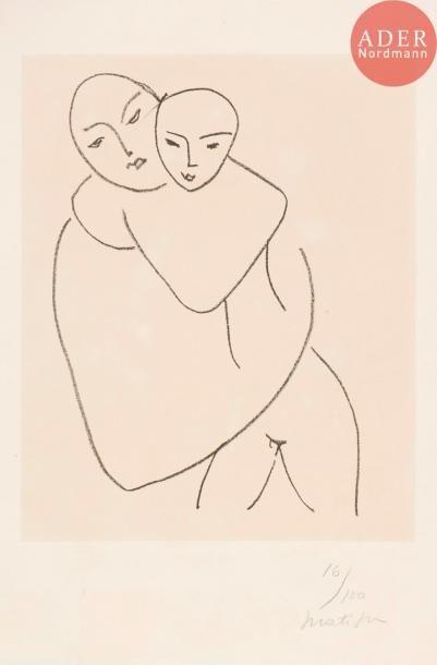 Henri Matisse (1869-1954) Vierge et Enfant....