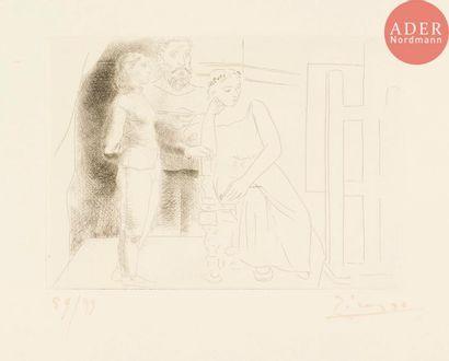 Pablo Picasso (1881-1973) Peintre entre deux...