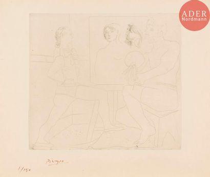 Pablo Picasso (1881-1973) L'Atelier. 1927....