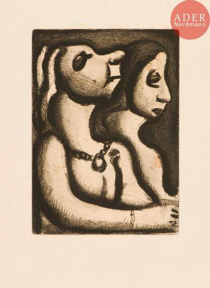 Georges Rouault (1871-1958) Les Deux matrones....