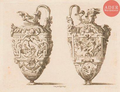 René Boyvin (1525-c. 1598 ou 1625) Dessins...