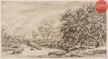 Louis-Hector Allemand (1809-1886) A Pont-de-Chéruy...