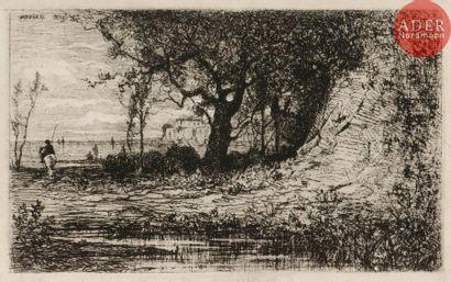 Adolphe Appian (1818-1898) Aux environs de...