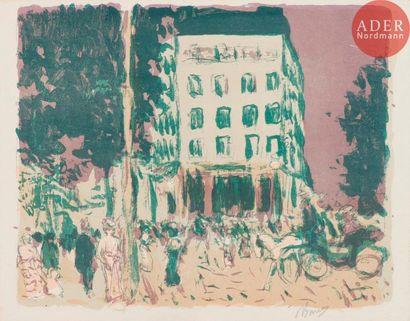 Pierre Bonnard (1867-1947) Les Boulevards....