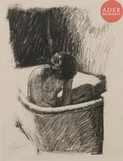 Pierre Bonnard (1867-1947) Le Bain. Vers...