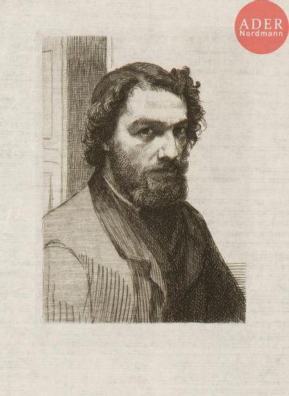 Félix Bracquemond (1833-1914) Edmond et Jules...