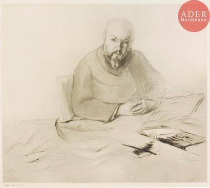 Edgar Chahine (1874-1947) Portrait de Monsieur...