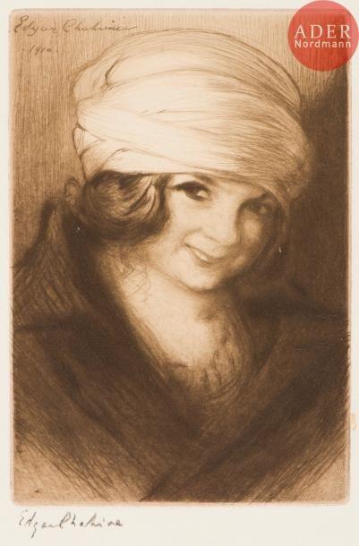 Edgar Chahine (1874-1947) Ghemma (petite...