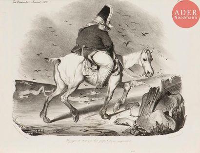 Honoré Daumier (1808-1879) Voyage à travers...