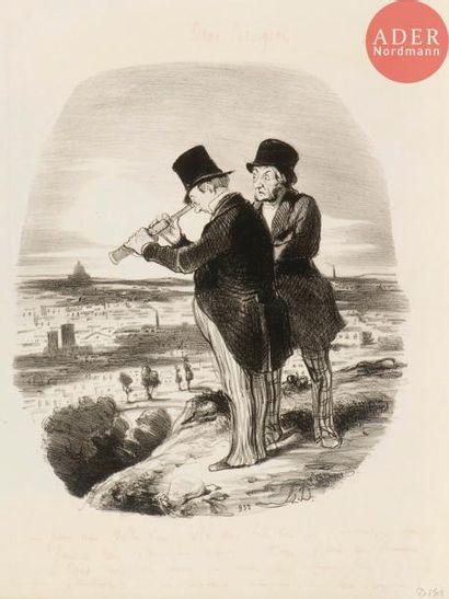Honoré Daumier (1808-1879) [Longue-vue]....
