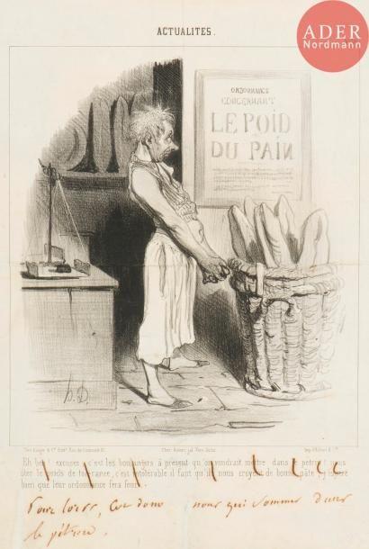 Honoré Daumier (1808-1879) Pour lors, c'est...