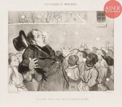 Honoré Daumier (1808-1879) Professeurs et...