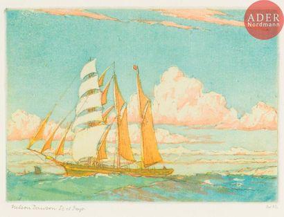 Nelson Dawson (1859-1941) Between England...