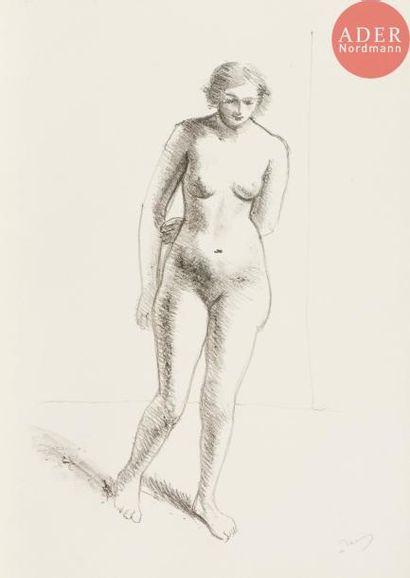 André Derain (1880-1954) Études de nus. 1929....
