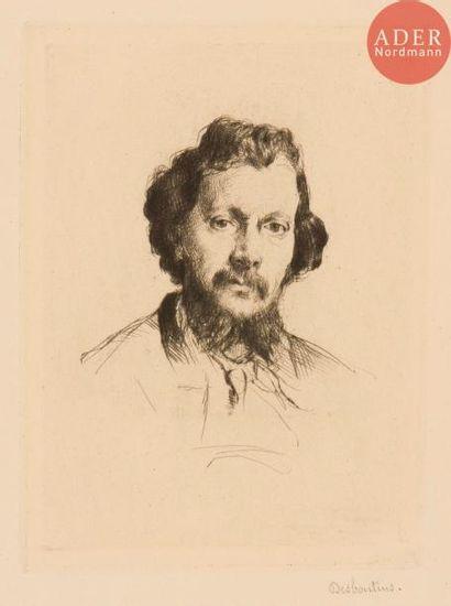 Marcellin Desboutin (1823-1902) Alfred Cadart,...