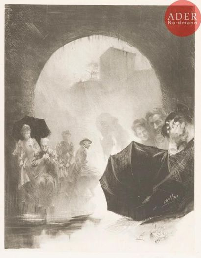 Henri-Patrice Dillon (1851-1909) L'Ondée,...