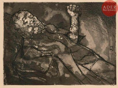 Otto Dix (1891-1969) Toter im Schlamm (Mort...