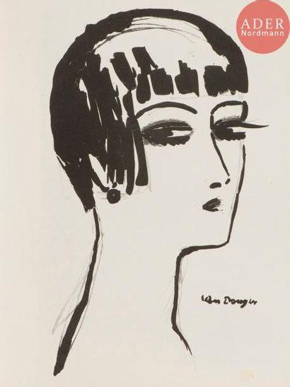 Kees van Dongen (1877-1968) Les Cheveux courts....