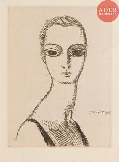 Kees van Dongen (1877-1968) Jeune fille au...