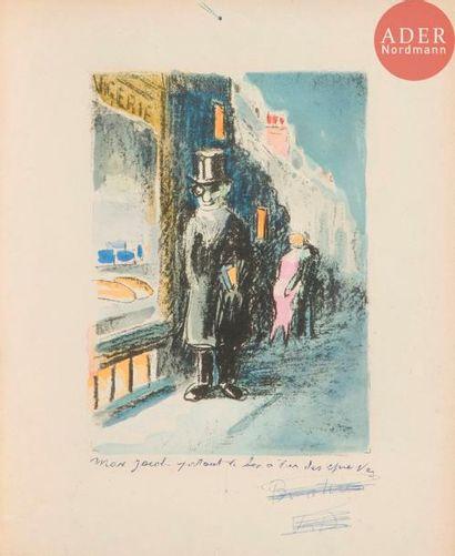 Kees van Dongen (1877-1968) Max Jacob portant...