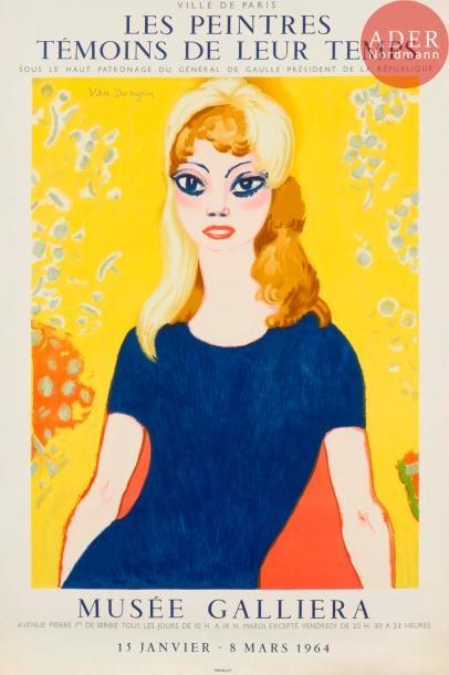 Kees van Dongen (1877-1968) (d'après) Brigitte...
