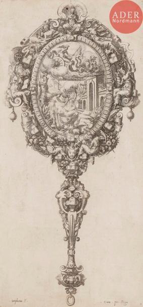 Étienne Delaune (1518 ou 1519-c. 1583) Écran...