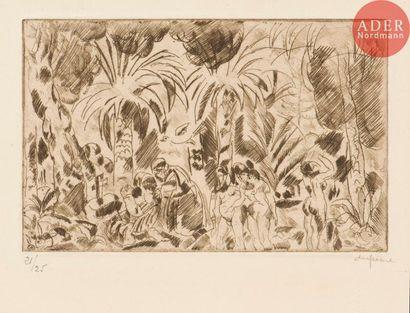 Charles Dufresne (1876-1938) Tentation de...