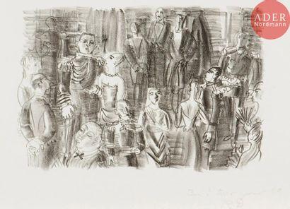 Raoul Dufy (1877-1953) Le Bal chez l'amiral....