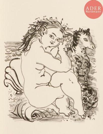 Raoul Dufy (1877-1953) Baigneuse au petit...