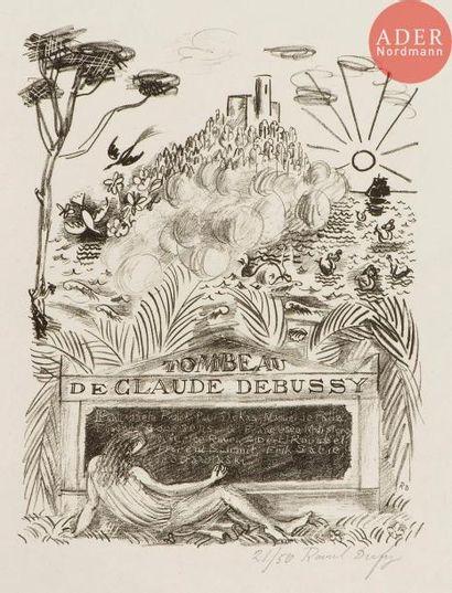 Raoul Dufy (1877-1953) Tombeau de Claude...