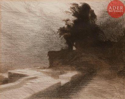 Charles Dulac (1865-1898) Le Vent, ou La...