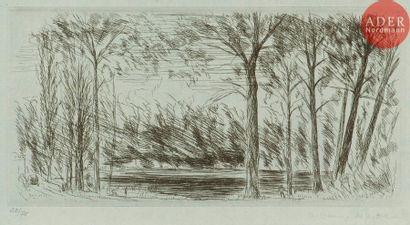 André Dunoyer de Segonzac (1884-1974) Chaville,...