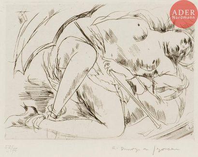 André Dunoyer de Segonzac (1884-1974) Nu...
