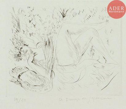 André Dunoyer de Segonzac (1884-1974) Bacchante...