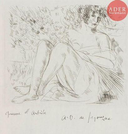 André Dunoyer de Segonzac (1884-1974) Pomone....
