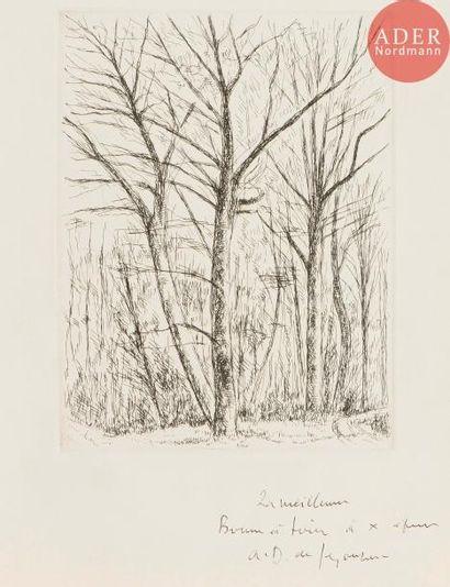 André Dunoyer de Segonzac (1884-1974) Grands...