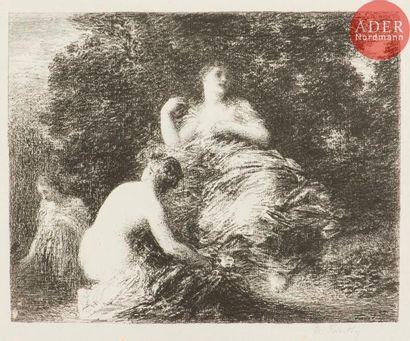 Henri Fantin-Latour (1836-1904) Baigneuses...